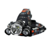 Kép 1/2 - 2+1 CREE T6 ledes akkumulátoros fejlámpa 3W+5W 1800LM 2x18650+töltő+ 12v T