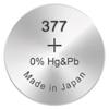 Kép 1/2 - 377/SR66/SR626SW GP ezüst-oxid gombelem