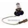 Kép 2/4 - 6V 10W Halogén izzó peremes, vezetékkel