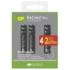Kép 2/2 - AA 2000mAh GP210AAHCB-C4+2 Recyko Pro ceruza akku bliszteres