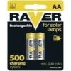 Kép 1/2 - AA 600mAh Raver Solar 60AAHC-C2 akkumulátor