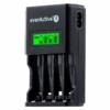 Kép 1/2 - Akkumulátor töltő EverActive NC-450 Ni-Mh 4 csatornás AA/AAA