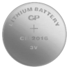 Kép 2/2 - CR2016-C5 3V GP lítium gombelem