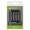 Kép 1/3 - GP PB421/U421 akkumulátor töltő USB kábellel + 4×AA GP ReCyko+ Pro