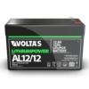 Kép 2/5 - Voltas 12,8V 12Ah LiFePO4 lítium-vasfoszfát zárt akkumulátor 151*65*95