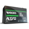 Kép 3/5 - Voltas 12,8V 12Ah LiFePO4 lítium-vasfoszfát zárt akkumulátor 151*65*95