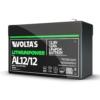 Kép 5/5 - Voltas 12,8V 12Ah LiFePO4 lítium-vasfoszfát zárt akkumulátor 151*65*95