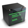 Kép 3/5 - Voltas 12,8V 50Ah LiFePO4 lítium-vasfoszfát zárt akkumulátor 194*164*170
