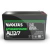 Kép 2/5 - Voltas 12,8V 7,5Ah LiFePO4 lítium-vasfoszfát zárt akkumulátor 151*65*95