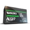 Kép 5/5 - Voltas 12,8V 7,5Ah LiFePO4 lítium-vasfoszfát zárt akkumulátor 151*65*95
