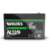 Kép 2/3 - Voltas 12,8V 9Ah LiFePO4 lítium vasfoszfát akkumulátor 151*65*95 digit.