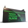 Kép 2/3 - Voltas 25,6V 100Ah LiFePO4 lítium vasfoszfát zárt akkumulátor 480*170*240