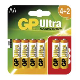 LR6 GP15AU-C4+2 Ultra ceruza elem bliszteres