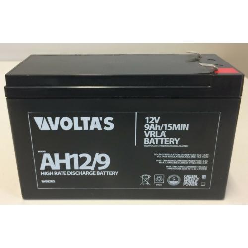 12V 9Ah nagy árammal terhelhető HR akku 151*65*100 F2 csatlakozóval