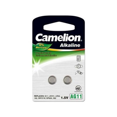 162A/AG11/LR58/L721 C2 Camelion alkáli gombelem 2db/bliszter