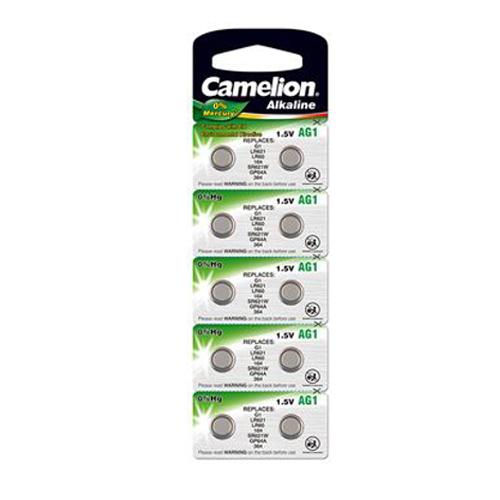 164A/AG1/LR60/L621 Camelion alkáli gombelem bliszteres