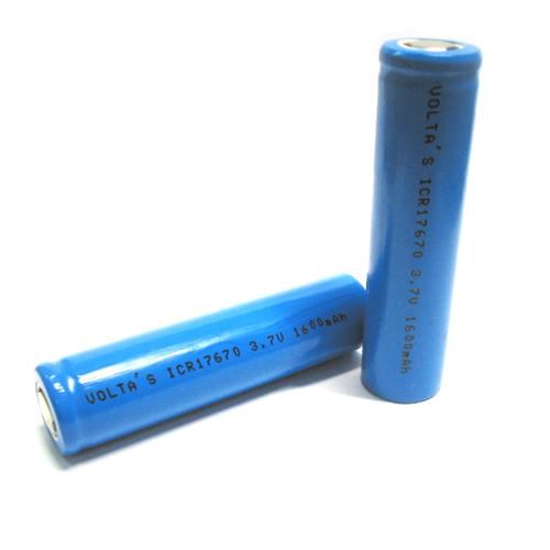 17670L160 Li-Ion 3,7V 1600mAh cella 17*67mm