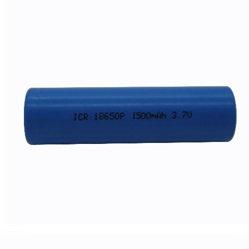 18650 3,7V 2600mAh Li-ion cella 18,3*65,5mm védő elektronikával