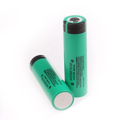 18650B Panasonic Li-ion 3400mAh akkumulátor (2,5A védő elektronikával)