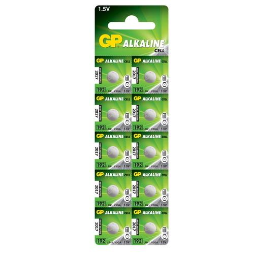 192A/AG3/LR41/L736 GP alkáli gombelem bliszteres