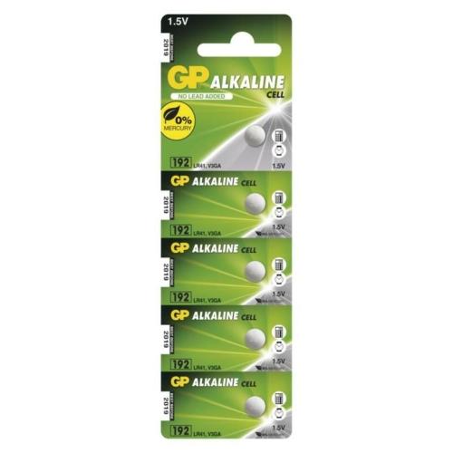 192A/AG3/LR41/L736 GP alkáli gombelem bliszteres C5