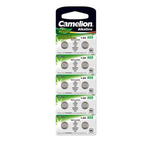 194A/AG9/LR45/394/L936 Camelion alkáli gombelem bliszteres