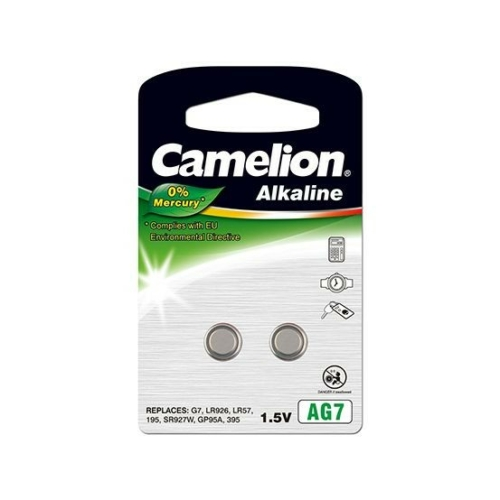 195A/AG7/LR57/L926 C2 Camelion alkáli gombelem bliszteres