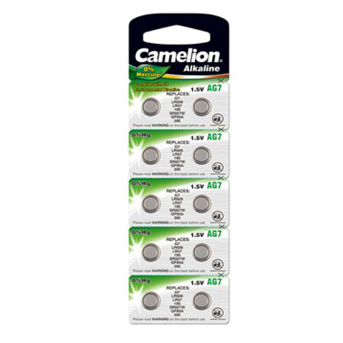 195A/AG7/LR57/L926 Camelion alkáli gombelem bliszteres
