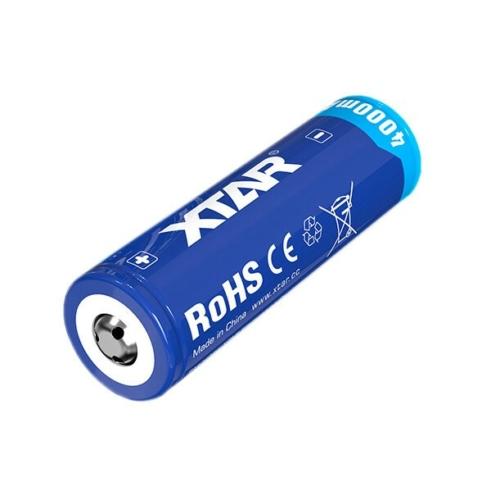 21700 XTAR 4000mAh lítium akkumulátor