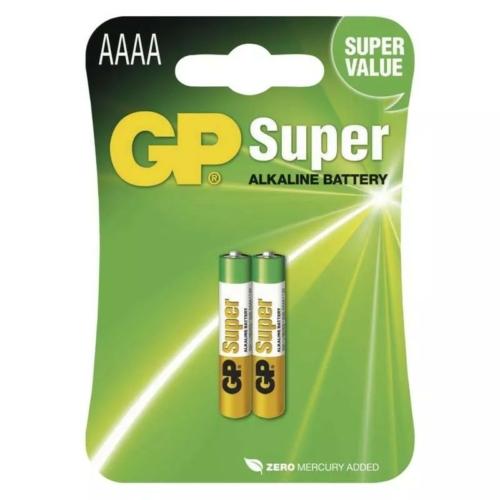 25A-C2 GP Super alkáli AAAA elem 1,5V bliszteres