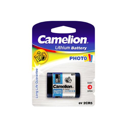 2CR5-C1 Camelion lítium fotó elem 6V bliszteres 34*17*45mm