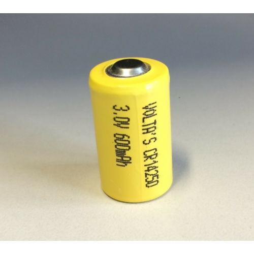 3.0V lítium Volta's 1/2 AA ceruza elem 600mAh CR14250