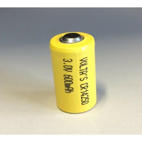 3.0V lítium 1/2AA Volta's  ceruza elem 600mAh CR14250