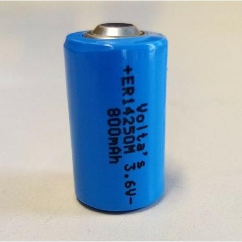 3.6V lítium 1/2 AA ceruza elem 800mAh ER14250M nagyáramú