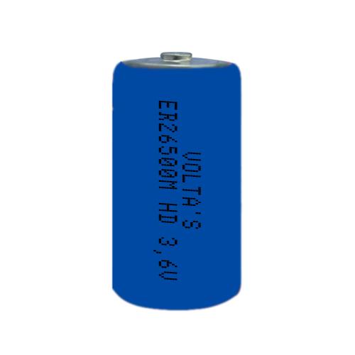 3.6V lítium C baby elem 6500mAh ER26500M nagyáramú Volta's