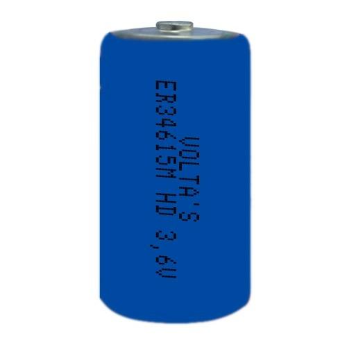 3.6V lítium D góliát elem 19000mAh ER34615