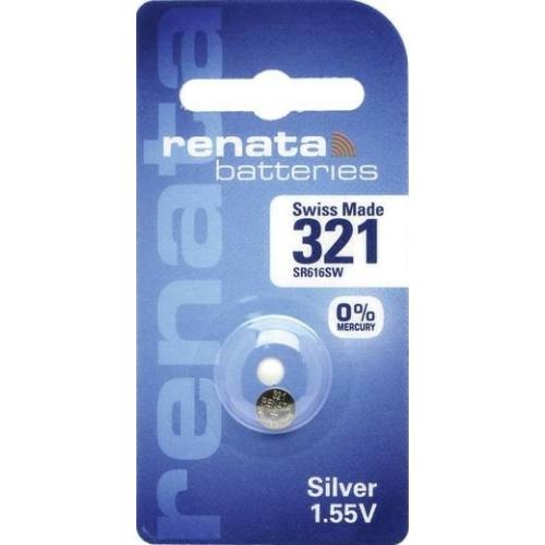 321/SR65/SR616 Renata ezüst-oxid gombelem