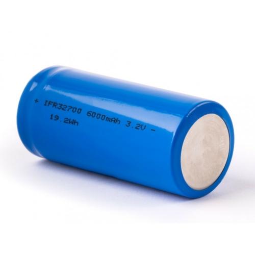 32700 3,2V 6000mAh LiFePO4 cella Volta's