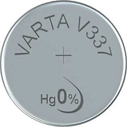 337/SR416SW VARTA ezüst-oxid gombelem