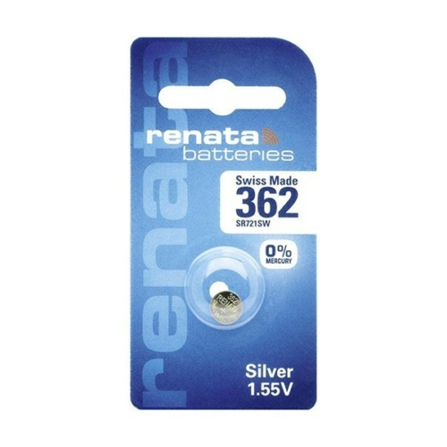 362/SR58/SR721SW Renata ezüst-oxid gombelem