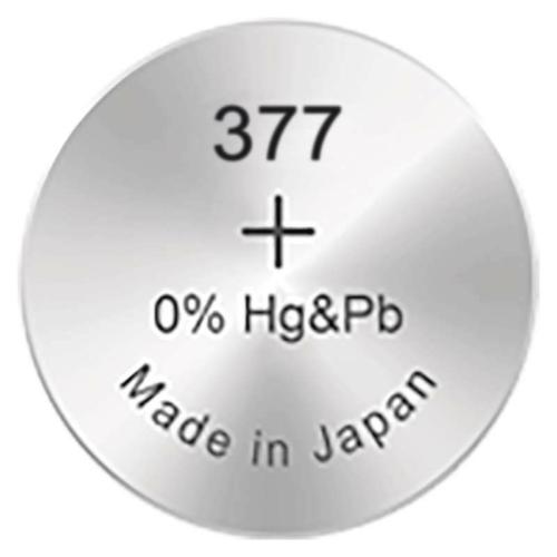 377/SR66/SR626SW GP ezüst-oxid gombelem