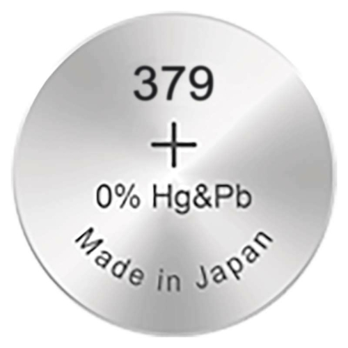 379/SR63/SR521SW GP ezüst-oxid gombelem