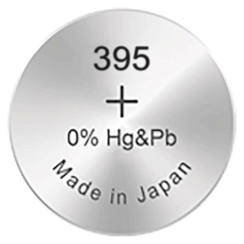395/SR57/SR927SW GP ezüst-oxid gombelem (Azonos 399)