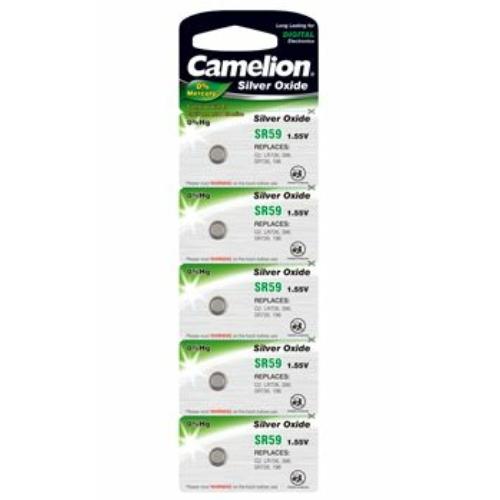 397/SR59/SR726SW Camelion ezüst-oxid gombelem (Azonos 396)