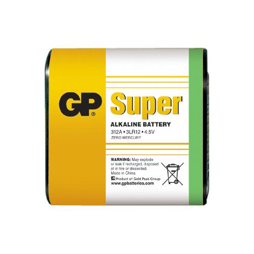 3LR12 GP312A-S1 Super alkáli lapos elem 4,5V fóliás