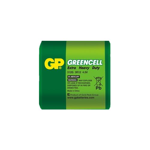 3R12 GP312G-S1 Greencell  lapos elem 4,5V fóliás
