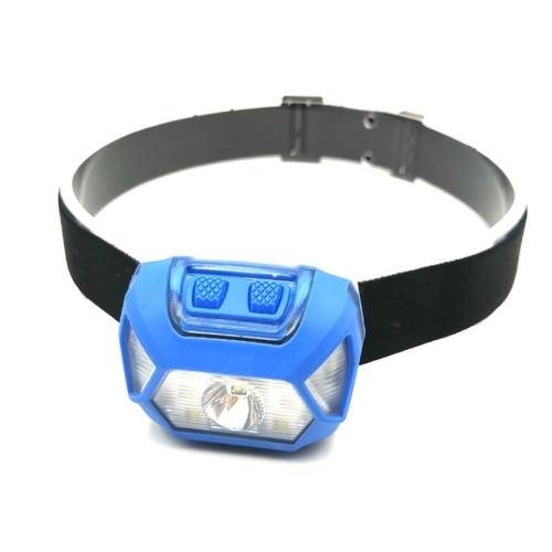 3W Cree xpe ledes fejlámpa beépített akkuval, USB töltővel COB leddel