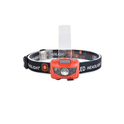 3W Cree xpe ledes szenzoros fejlámpa beépített akkuval, USB töltővel