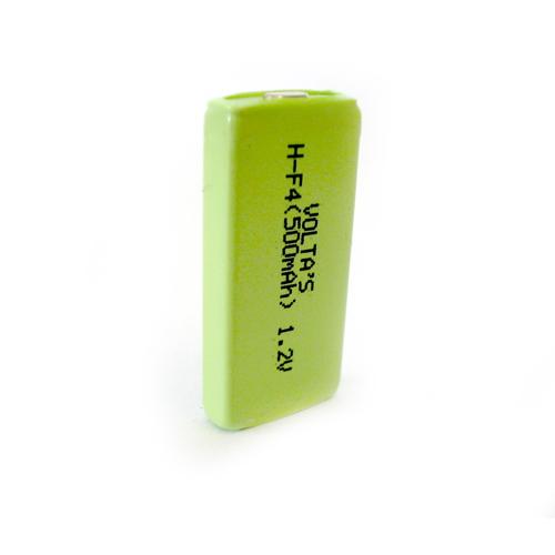 4M 500mAh Ni-Mh Voltas lapcella 6.1*17.3*35.5mm
