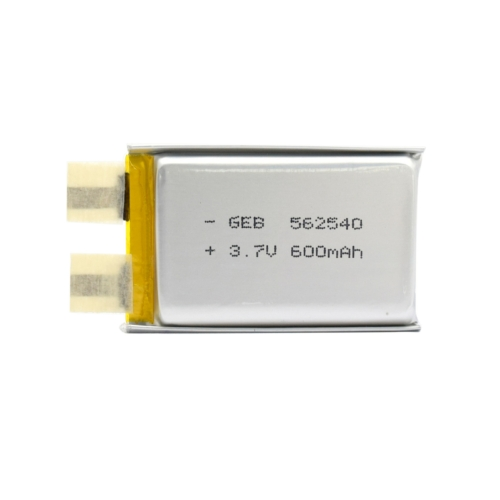562540 Líthium-polymer lapcella 3,6V 5,6*25*40mm 600mAh